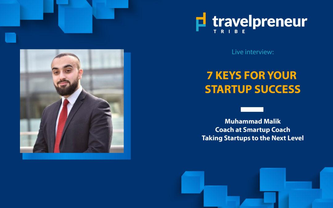 7 Keys For Your Start-Up Success